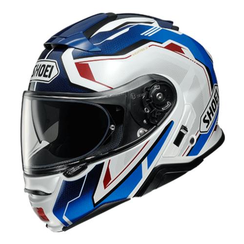 SHOEI ヘルメット 2021年2月発売予定 NEOTEC II RESPECT (リスペクト) BLUE/RED(TC-10)
