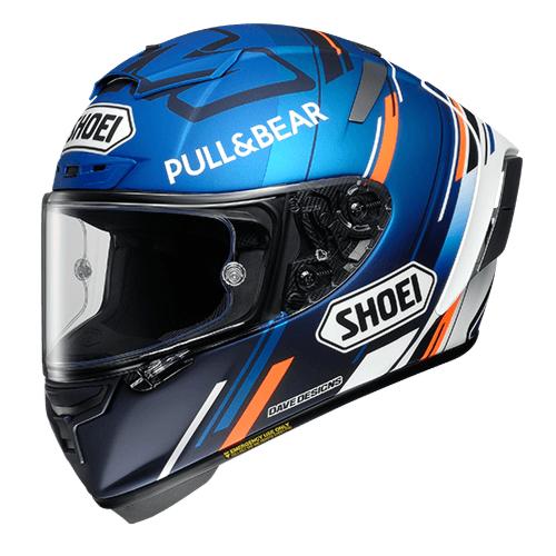 SHOEI ヘルメット X-Fourteen AM73  アレックス・マルケス選手の2020年シーズン仕様のレプリカモデル