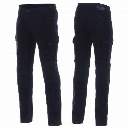 3327321 CARG RIDING PANTS BLACK DISTRESSED(1085) ◆全2色◆