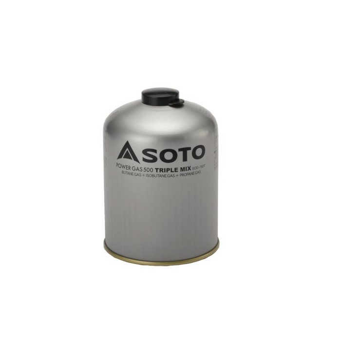 SOTO お取り寄せ商品 パワーガス500トリプルミックス SOD-750T