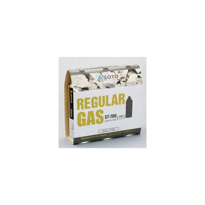 SOTO お取り寄せ商品 REGULAR GAS レギュラーガス 3本セット ST-7001