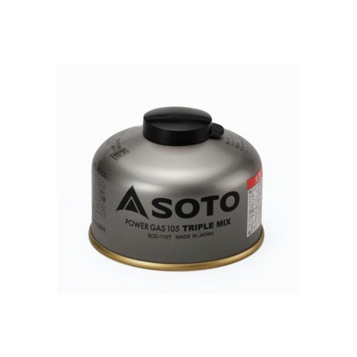 SOTO お取り寄せ商品 パワーガス105・トリプルミックス SOD-710T