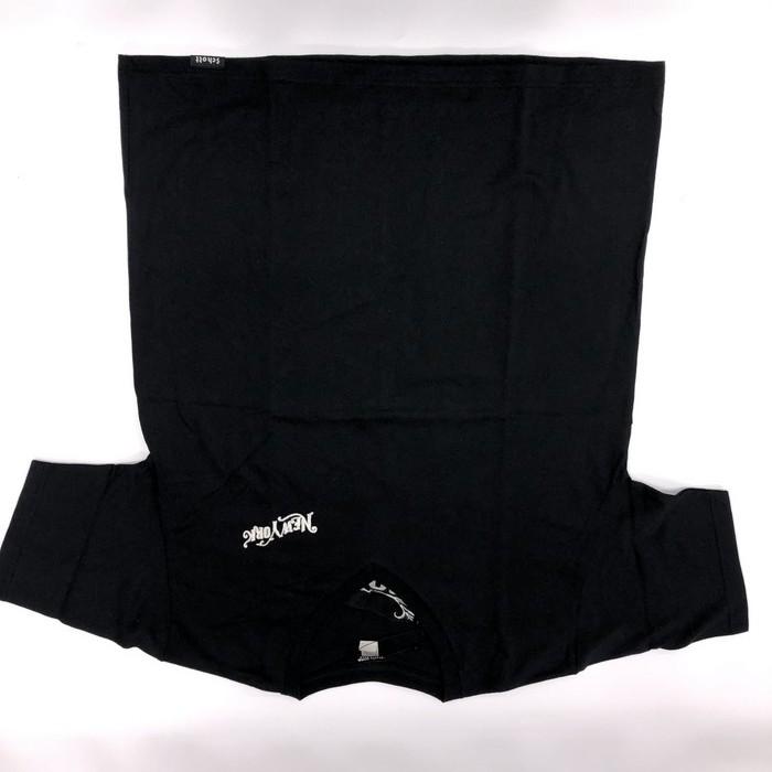 SCHOTT 【ウェアアウトレット】半額以下!個別配送のみ SCHOTT EMB V-NECK Tシャツ 09BK