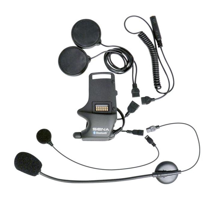 SENA SENA SMH-A0306 SMH10専用 ケーブル付きブームマイク/ケーブルマイク/スピーカー/イヤホンジャック ヘルメットクランプユニット