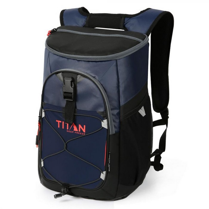 TITAN タイタン Backpack Cooler Deep Freeze 24 Can ブルー