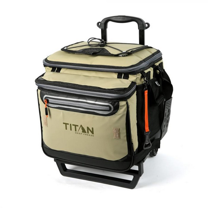 TITAN タイタン Rolling Cooler Deep Freeze 60(50+10) Can