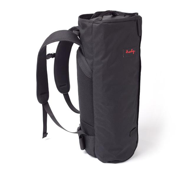 Henty CoPilot BackPack STD コパイロット バックパック スタンダード ブラック スーツバッグ/ガーメントバッグ