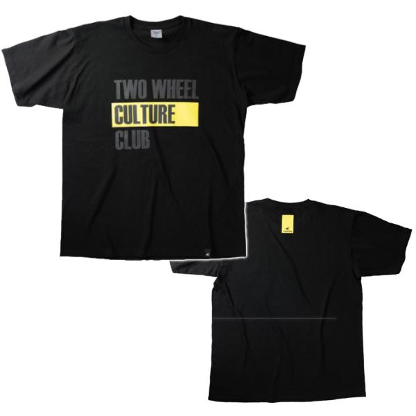 アールエスタイチ RSU090 TWO WHEEL T-SHIRT BLACK◆全2色◆