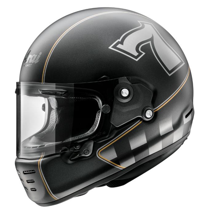 RAPIDE-NEO CAFE RACER [ラパイドネオ カフェレーサー] ヘルメット フラットブラック(つや消し) 山城限定カラー