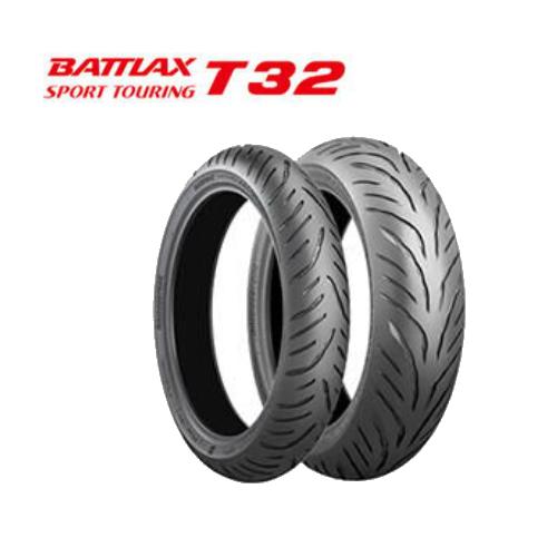 BRIDGESTONE BATTLAX SPORT TOURING T32 190/55ZR17(75W) MCR5884 リヤ