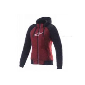 alpinestars レディース 4210920 STELLA CHROME SPORT HOODIE ジャケット JASPER RED BLACK WHITE(3052) ◆全2色◆