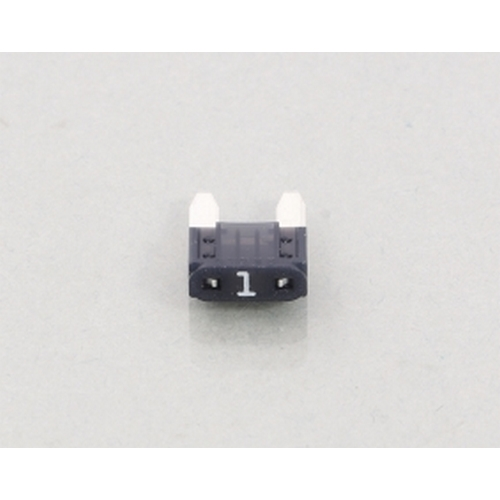 KITACO 0900-755-06201  ミニ平型ヒューズ(BFMN)『1A・黒』