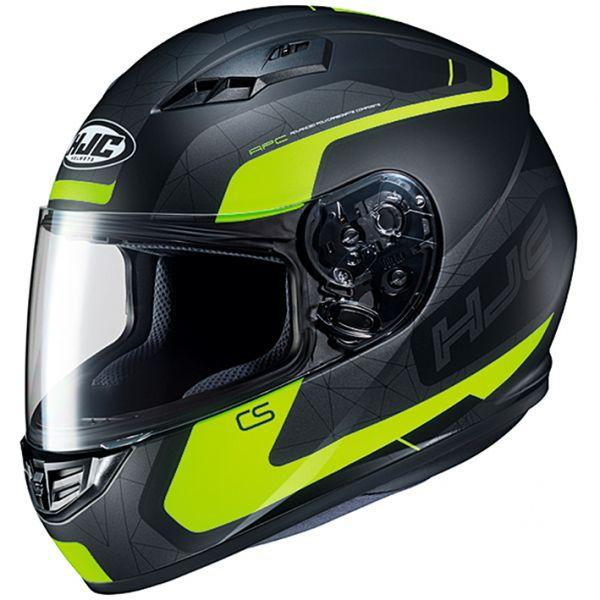 HJC HJH195 CS-15 DOSTA 【ドスタ】 BLACK/YELLOW(MC4HSF) フルフェイスヘルメット