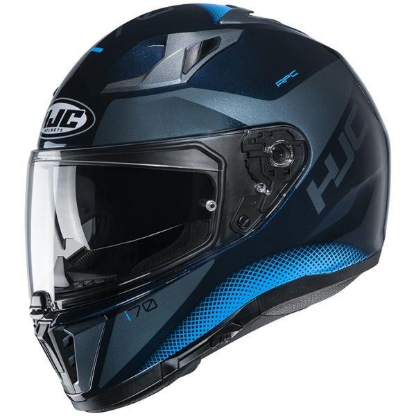 HJC HJH193 CS-15 i70 TAS【タス】BLACK/BLUE(MC2) フルフェイスヘルメット