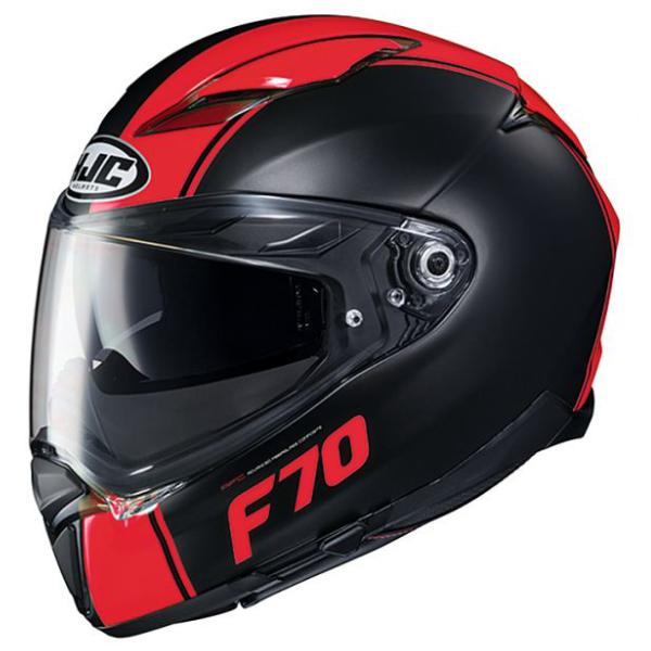 HJC HJH194 F70 【マーゴ】 BLACK/RED フルフェイスヘルメット