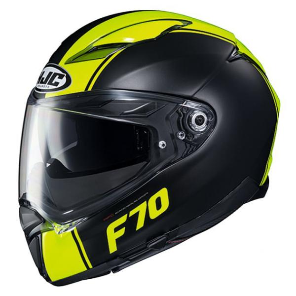 HJC HJH194 F70 [マーゴ] BLACK/YELLOW フルフェイスヘルメット