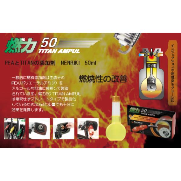 T.I.G チタンアンプル 燃力 燃料添加剤