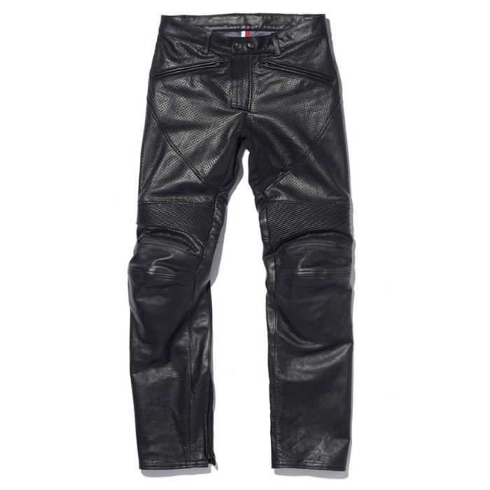 KADOYA 2276 レザーパンツ BRAWLER PANTS-PL ブラック