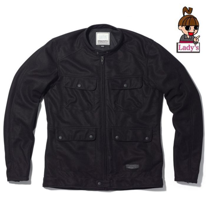 KADOYA 4月下旬発売予定 6261 (レディース)メッシュジャケット ACRO ブラック ブラック◆全2色◆