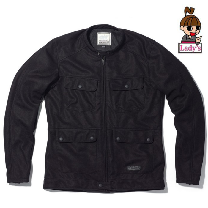 KADOYA 6261 (レディース)メッシュジャケット ACRO ブラック ブラック◆全2色◆