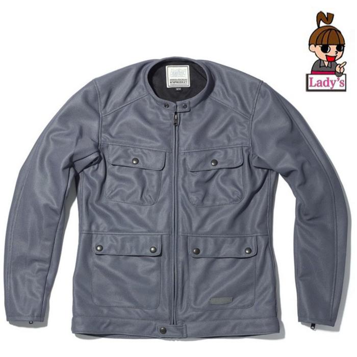 KADOYA 6261 (レディース)メッシュジャケット ACRO グレー グレー◆全2色◆
