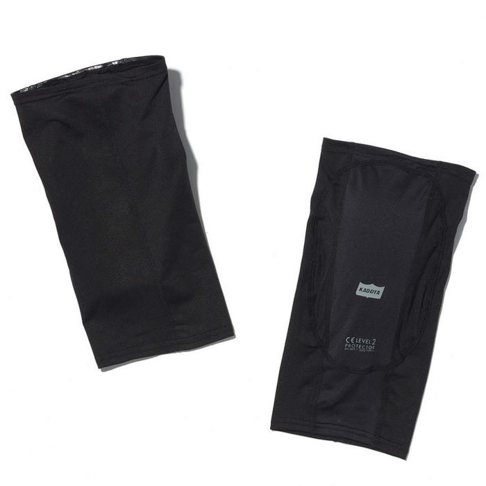 KADOYA 7103 RIDEN KNEE GUARD  ブラック