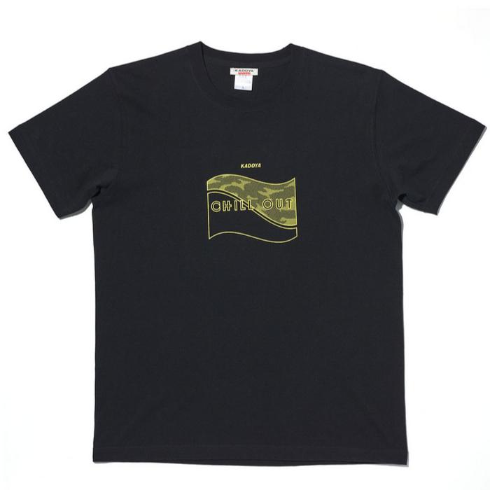 KADOYA 4月下旬発売予定 7877 CHILL OUT - T  ブラック◆全3色◆