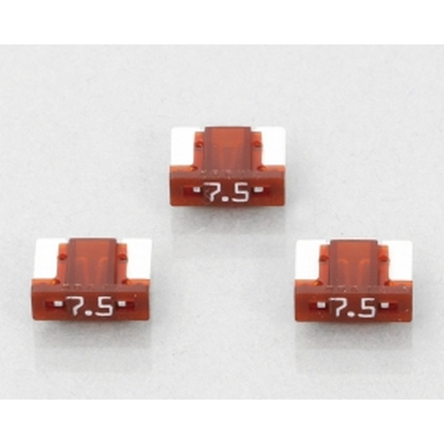 KITACO 0900-755-06102 KITACO 低背ヒューズ(BFLP)3ヶ1セット 『7.5A/茶』