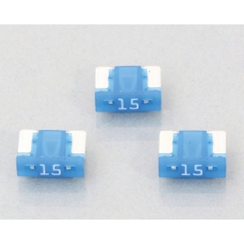 KITACO 0900-755-06104 KITACO 低背ヒューズ(BFLP)3ヶ1セット 『15A/青』