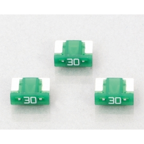 KITACO 0900-755-06107 KITACO 低背ヒューズ(BFLP)3ヶ1セット 『30A/緑』