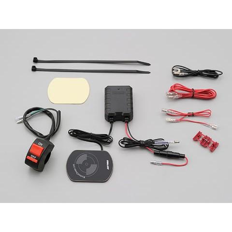 DAYTONA 電源 Qi規格対応 15w 防水 ワイヤレス充電器
