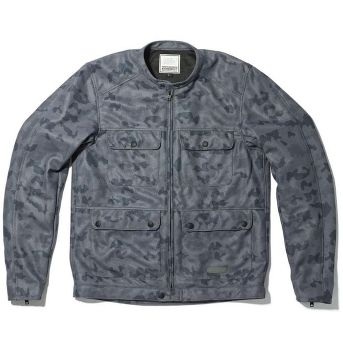 KADOYA 6261 メッシュジャケット ACRO / CAMO グレー/カモ グレー/カモ◆全4色◆