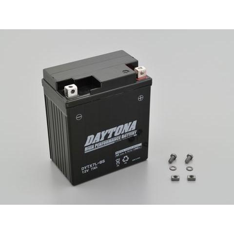 DAYTONA 92879 ハイパフォーマンスバッテリー【DYTX7L-BS】 MFタイプ