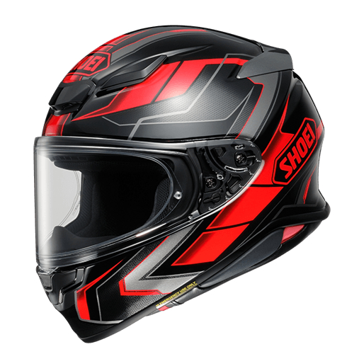 SHOEI ヘルメット Z-8 PROLOGUE [ゼットエイト] プロローグ BLACK/RED(TC-1)