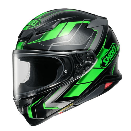 SHOEI ヘルメット Z-8 PROLOGUE [ゼットエイト] プロローグ BLACK/GREEN(TC-4)