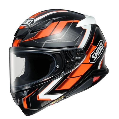 SHOEI ヘルメット Z-8 PROLOGUE [ゼットエイト] プロローグ BLACK/ORANGE(TC-8)