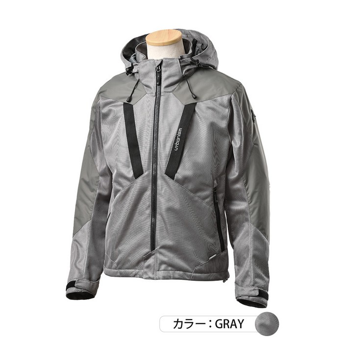 J-AMBLE UNJ-094 メッシュベントジャケット グレイ◆全3色◆