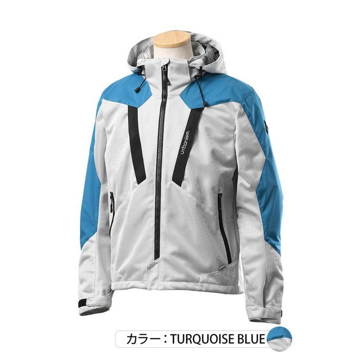 J-AMBLE UNJ-094 メッシュベントジャケット ターコイズブルー◆全3色◆