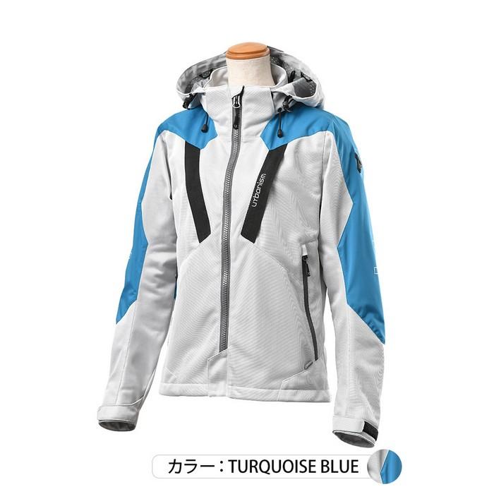 J-AMBLE (レディース)UNJ-094W メッシュベントジャケット ターコイズブルー◆全2色◆