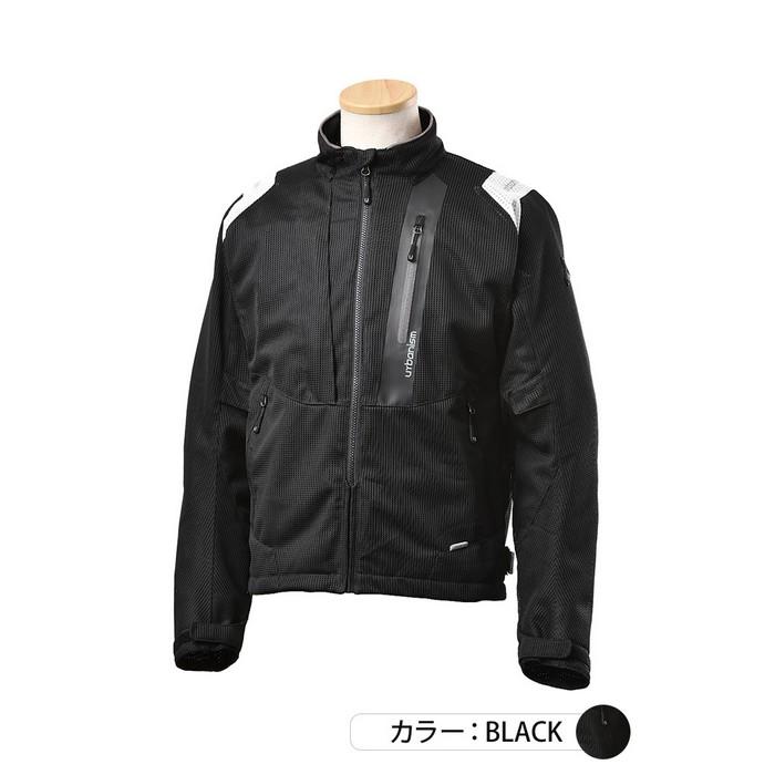 J-AMBLE UNJ-089 ライドメッシュジャケット ブラック◆全3色◆