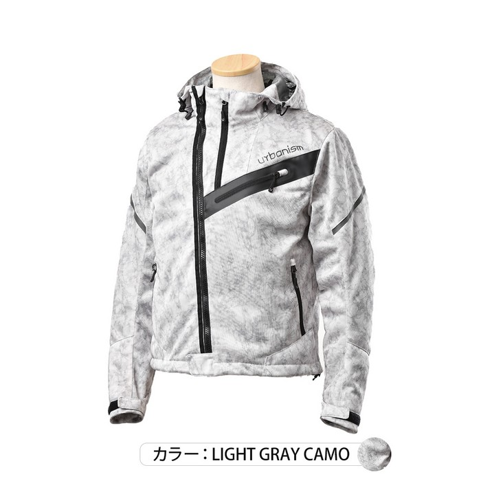 J-AMBLE UNJ-090 アーバンライドメッシュジャケット ライトグレイカモ◆全3色◆