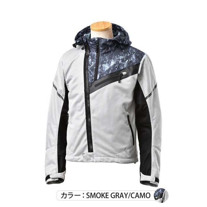 J-AMBLE UNJ-090 アーバンライドメッシュジャケット スモークグレイカモ◆全3色◆