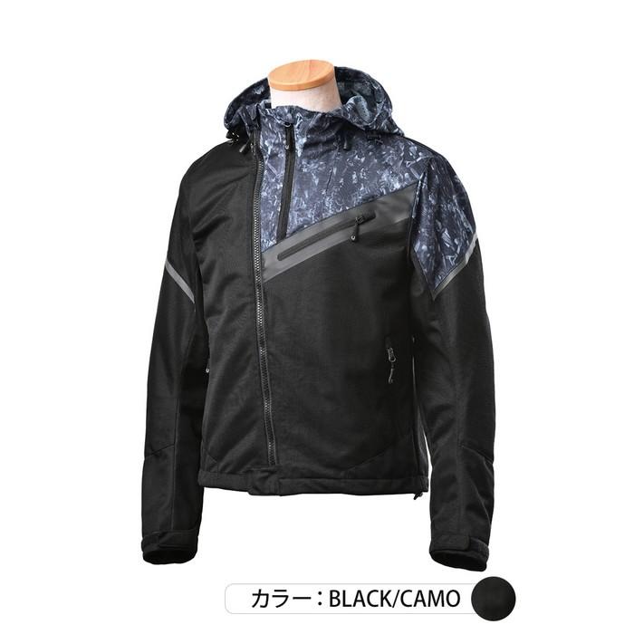 J-AMBLE UNJ-090 アーバンライドメッシュジャケット ブラックカモ◆全3色◆
