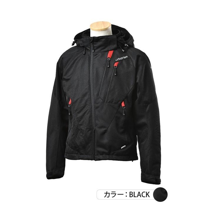 J-AMBLE UNJ-091 フードメッシュジャケット ブラック◆全5色◆