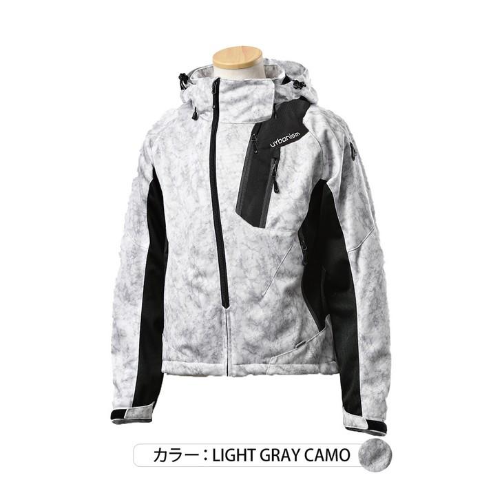 J-AMBLE UNJ-091 フードメッシュジャケット ライトグレイカモ◆全5色◆