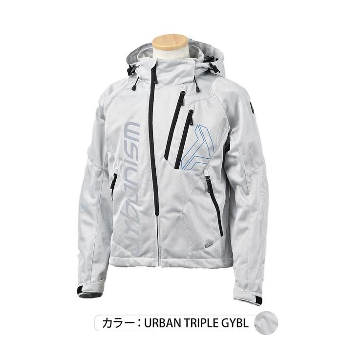 J-AMBLE UNJ-091 フードメッシュジャケット アーバントリプル◆全5色◆