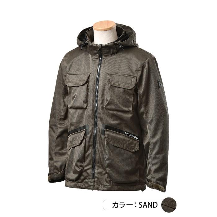 J-AMBLE UNJ-092 フルメッシュマウンテンパーカー サンド◆全2色◆