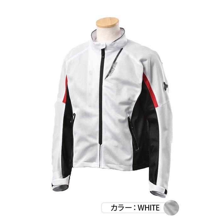 J-AMBLE UNJ-093 イージーメッシュジャケット ホワイト◆全3色◆