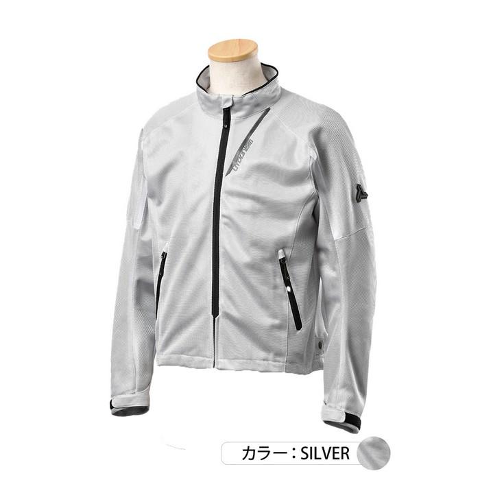 J-AMBLE UNJ-093 イージーメッシュジャケット シルバー◆全3色◆