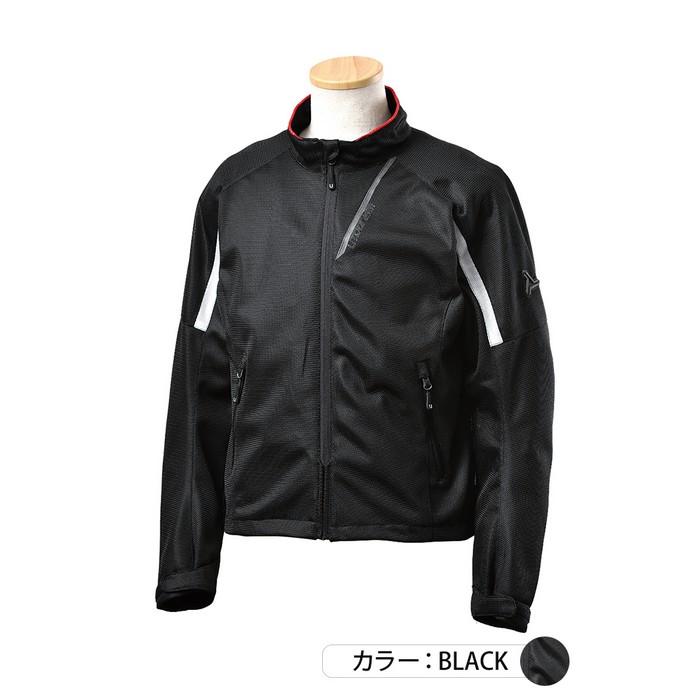 J-AMBLE UNJ-093 イージーメッシュジャケット ブラック◆全3色◆